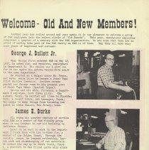 Image of pg 2: Old Guard; George J. Bullet, Jr., James E. Burke