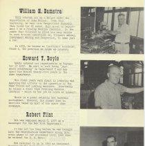 Image of pg 5: William H. Damstra; Howard T. Doyle; Robert Flint