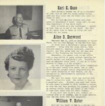 Image of pg 6: Karl E. Hase; Alice D. Henwood; William V. Hofer