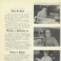 Image of pg 7: Rose M. Kunz; William J. Maikranz, Jr., Rocco J. Nobile
