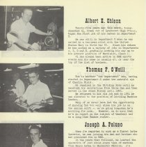 Image of pg 8: Albert E. Ohlson; Thomas F. O'Neill; Joseph A. Peluso