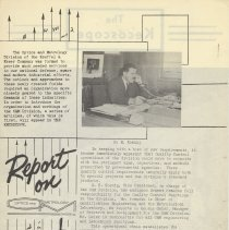 Image of pg 2: E.H. Koenig; report on Optics & Metrology Division., Quality Control