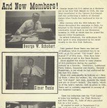 Image of pg [3]: George W. Schobert; Elmer Tanis; Albert C. Velevis