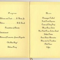 Image of inside, program and menu