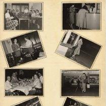 Image of B+W photos, 8, of K&E [Co.] Camera Club activities, Hoboken et al, n.d., ca. 1950s. - Print, Photographic