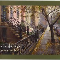 """Image of Postcard: announcement for members' preview, """"Frank Hanavan: Painting the Town,"""" at the Hoboken Historical Museum, Sunday, Sept. 14, 2003. - Postcard"""