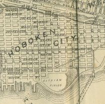 Image of map detail of Hoboken