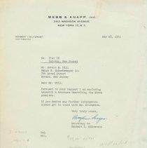 Image of Real estate offering for Pier 16, Hoboken, N.J., 1951. - Report