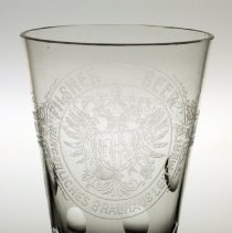 Image of detail 1 front: Pilsner Beer with double eagle crest