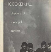 Image of Directory of Municipal Services, Hoboken, N.J., no date, ca. 1972-1973. - Booklet