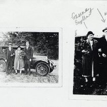 Image of Photocopies of 6 photographs of August & Gesina Engelbart, once residents of Hoboken, ca. 1917-1940. - Documents