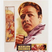 """Image of Color print of publicity poster for film """"On the Waterfront"""" no place, no date, ca. 1954. - Print, Photographic"""