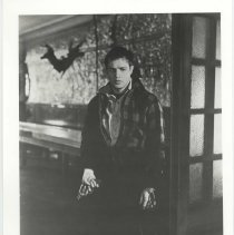 "Image of Black-and-white publicity photo of Marlon Brando as Terry Malloy in film ""On the Waterfront,"" Hoboken, no date, ca. 1953-1954. - Print, Photographic"
