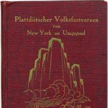 Image of 75 Jahre Plattdütscher Volksfestvereen von New York un Umgegend. - Book