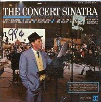 "Image of Record Album, Frank Sinatra: ""The Concert Sinatra."" Reprise. 33rpm. Stereo. R9-1009. - Record, Phonograph"