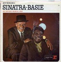 "Image of Record Album, Frank Sinatra: ""Sinatra-Basie."" Reprise. 33rpm. Stereo. FS -1008. - Record, Phonograph"