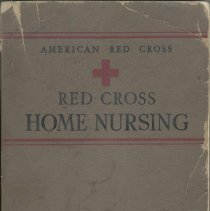 Image of American Red Cross Textbook on Red Cross Home Nursing. - Book