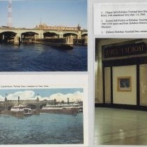 Image of Color images, 36, of photos/postcard images of Hoboken Terminal, Hoboken, ca. 1907-2000. - Print, Photographic
