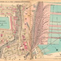 Image of Plate 12 from Plat Book of Hudson County, Volume II. Philadelphia: G.M. Hopkins Co. (1923). - Map