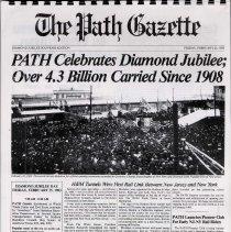 "Image of Diamond Jubilee Souvenir edition of the ""PATH Gazette"", Friday, Feb. 25, 1983. Facsimile copy. - Pamphlet"