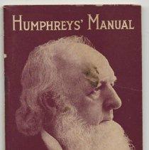 Image of Humphreys' Manual. New York, 1929. - Booklet