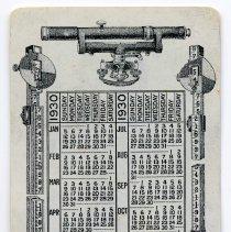 Image of calendar side