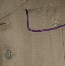 Image of detail jacket buttons