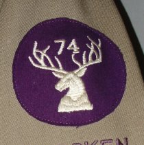 Image of detail right sleeve emblem