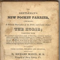Image of The Gentleman's Pocket Farrier, Comprising A General Description of the Noble and Useful Animal The Horse. - Book