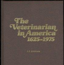 Image of Veterinarian in America, The: 1625-1975. - Book