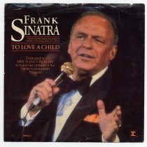 """Image of Record: """"To Love A Child."""" Frank Sinatra.  Reprise 29903-7. 7 inch 45 rpm - Record, Phonograph"""