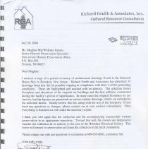 Image of July 2004 cover sheet