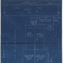Image of Tentative Property Requirements, General Foods Corp., [Maxwell House Coffee plant, Hoboken], 1937. - Blueprint