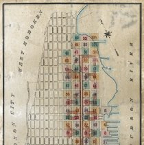 Image of Hoboken Land & Improvement Co., Hoboken, Volume 2, Property Sheets, 1885. Index key Map. Maps 31 to 61. - Map
