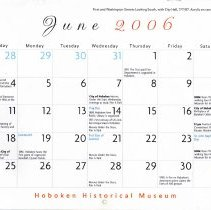 Image of June 2005 calendar