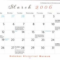 Image of March 2006 calendar