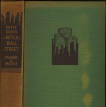 Image of The Witch of Wall Street: Hetty Green. - Book