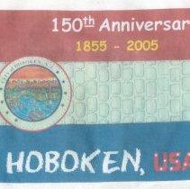Image of T-shirt: 150th Anniversary, 1855-2005, Hoboken, U.S.A.. Hoboken, 2005. - T-shirt