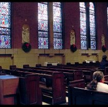 Image of Digital images, 4, of Saints Peter & Paul Church, Fourth & Hudson Sts., Hoboken, Dec., 2003. - Print, Photographic