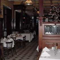 Image of Digital image of the interior of Frankie & Johnny On the Waterfront Restaurant, Hoboken, Dec. 26, 2003. - Print, Photographic