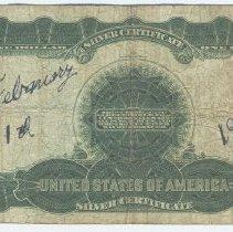 Image of Bill 1: 1915 bill back