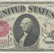 Image of Bill 2: 1919 bill front