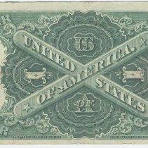 Image of Bill 2: 1919 bill back