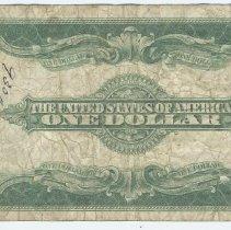 Image of Bill 3: 1927 bill back