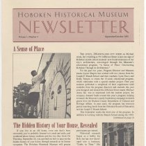 Image of Hoboken Historical Museum Newsletter [Second Series], Volume 1, Number 4, September- October 1995. - Periodical