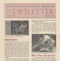Image of Hoboken Historical Museum Newsletter [Second Series], Volume 2, Number 6, January - February 1997 - Periodical