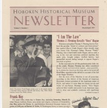 Image of Hoboken Historical Museum Newsletter [Second Series], Volume 3, Number 1, March - April 1997 - Periodical