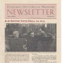 Image of Hoboken Historical Museum Newsletter [Second Series], Volume 3, Number 3, July - August 1997 - Periodical
