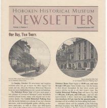 Image of Hoboken Historical Museum Newsletter [Second Series], Volume 3, Number 4, September - October 1997 - Periodical