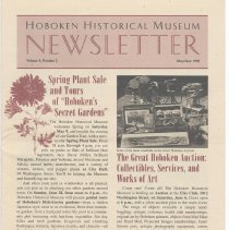 Image of Hoboken Historical Museum Newsletter [Second Series], Volume 4, Number 2, May - June 1998 - Periodical